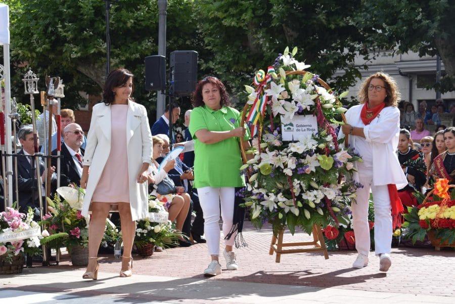 Haro se echa a la calle para honrar con flores a la Virgen de la Vega 31