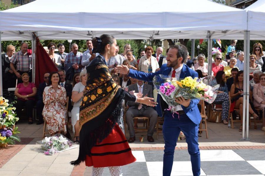 Haro se echa a la calle para honrar con flores a la Virgen de la Vega 41