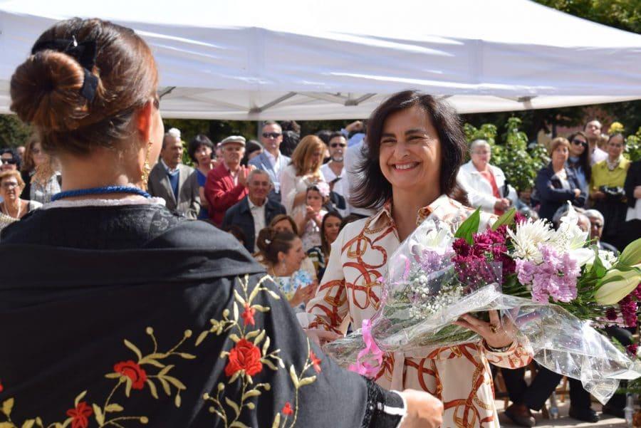 Haro se echa a la calle para honrar con flores a la Virgen de la Vega 45