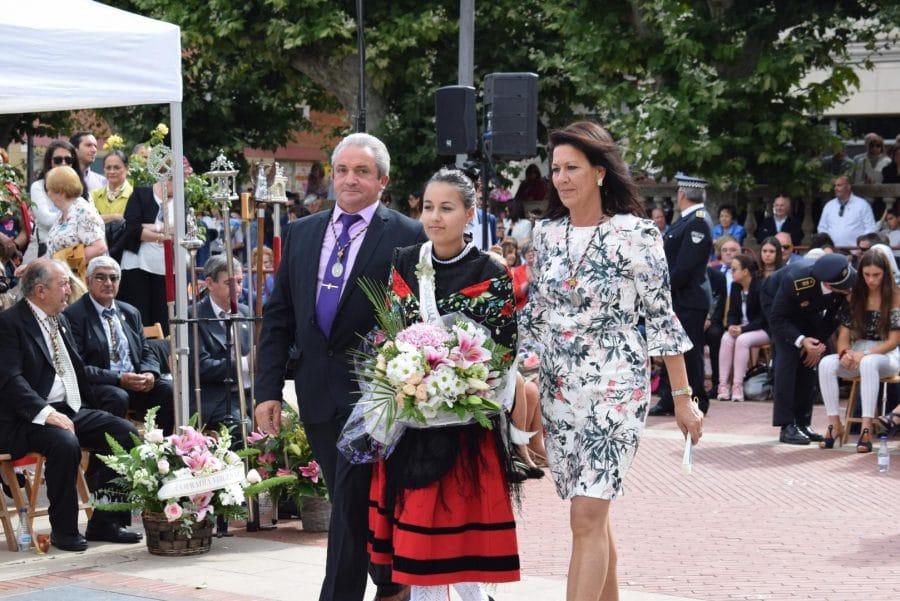 Haro se echa a la calle para honrar con flores a la Virgen de la Vega 48