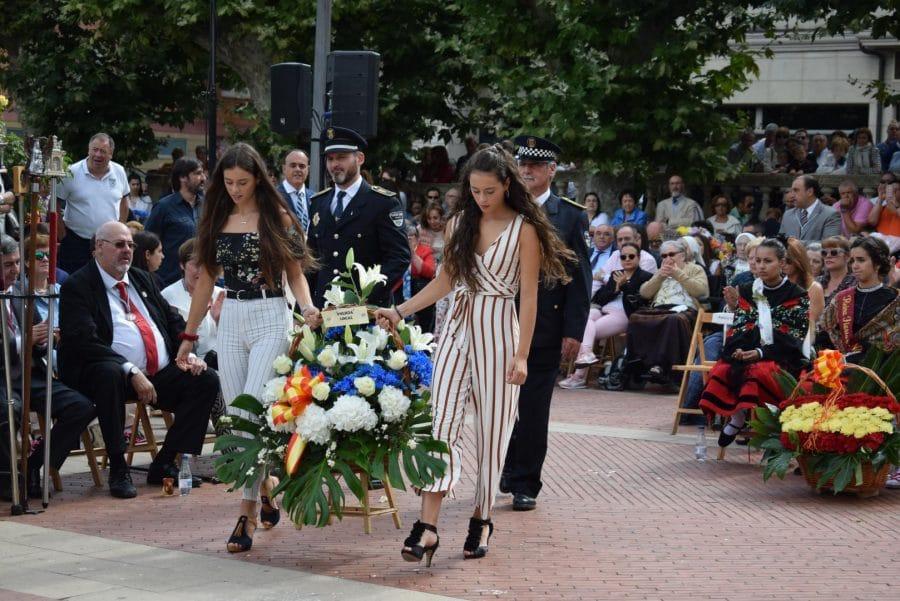 Haro se echa a la calle para honrar con flores a la Virgen de la Vega 61