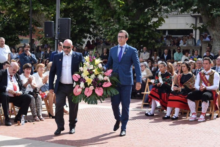 Haro se echa a la calle para honrar con flores a la Virgen de la Vega 63