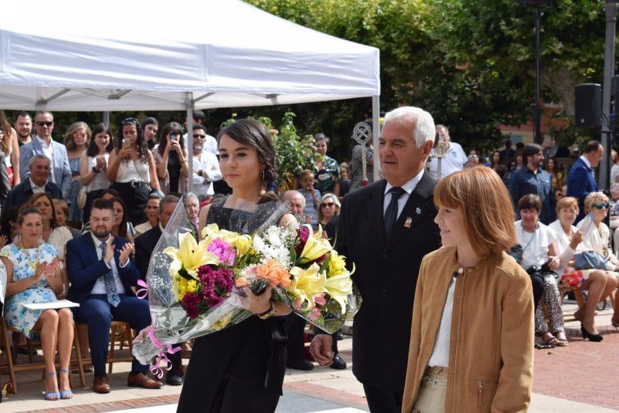 Haro se echa a la calle para honrar con flores a la Virgen de la Vega 66