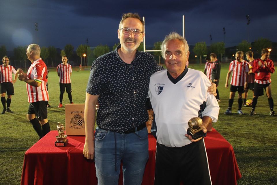 Los Veteranos del CD Logroñés revalidan la Copa Rioja a beneficio de Cruz Roja 4