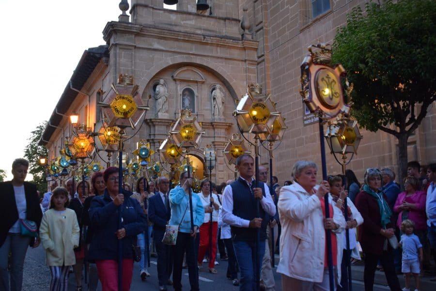 El Rosario de Faroles de Cristal ilumina Haro una vez más 15