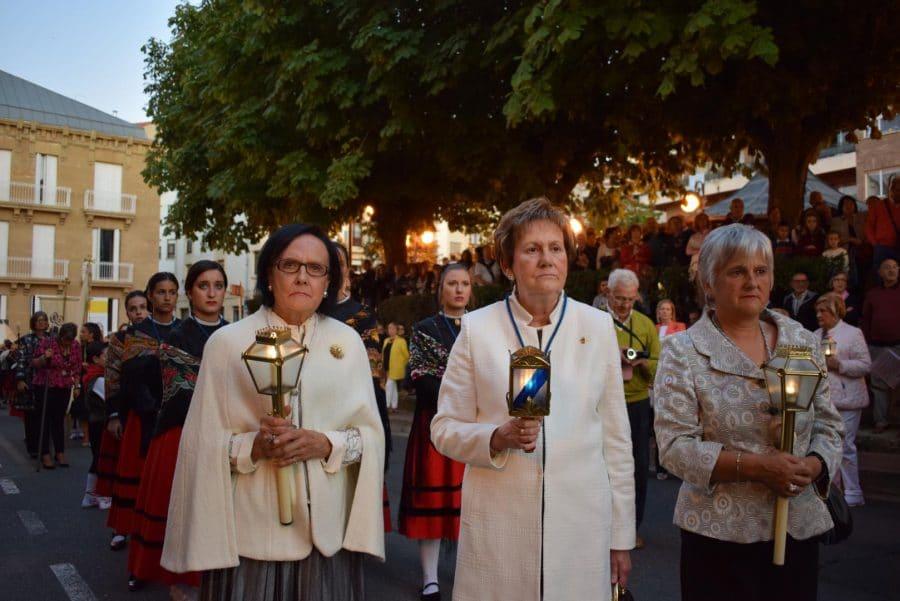 El Rosario de Faroles de Cristal ilumina Haro una vez más 19