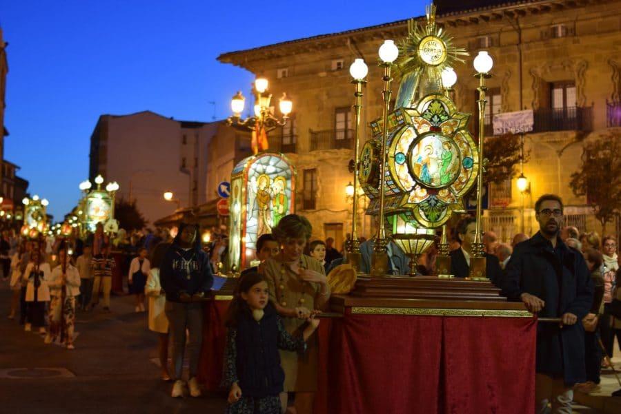 El Rosario de Faroles de Cristal ilumina Haro una vez más 31