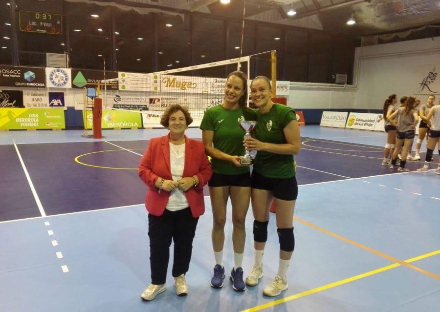 Finaliza el Memorial Lorena Ojeda con el triunfo del May Deco Voleibol Logroño 1