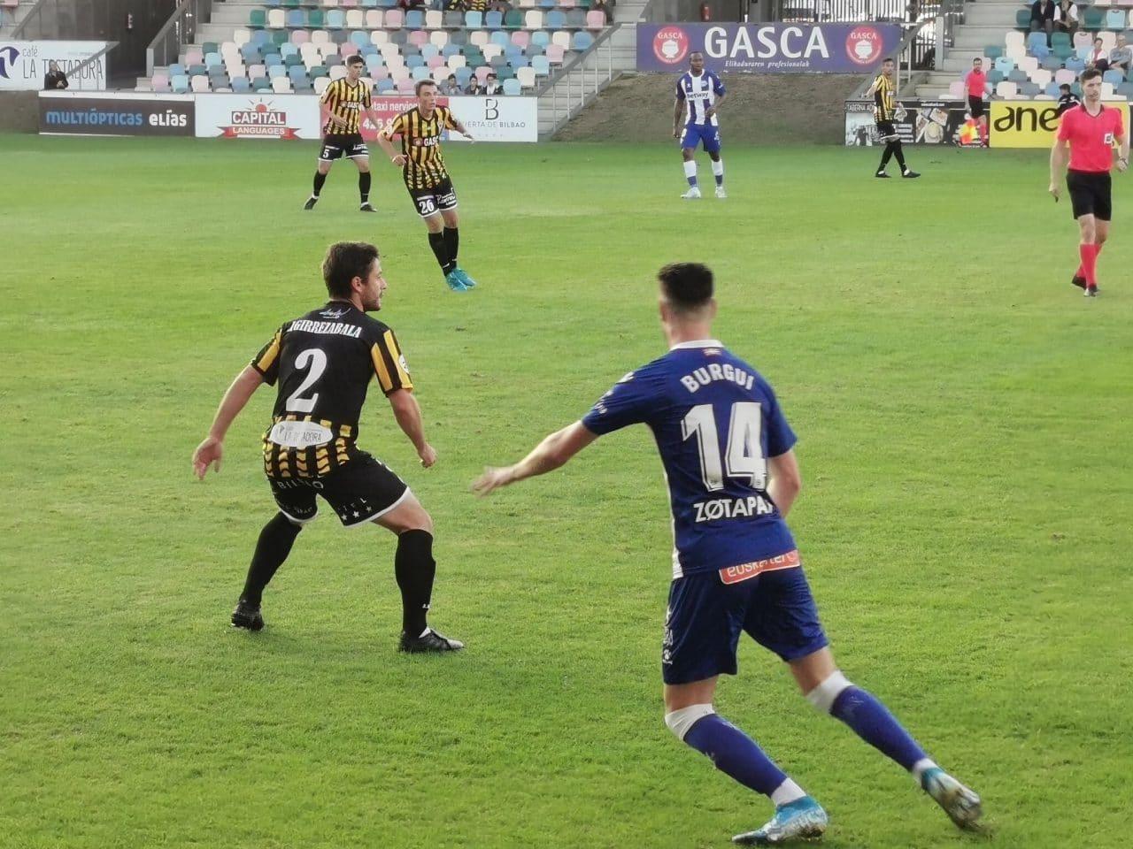 """""""Sabemos dónde vamos y somos conscientes de que el Barakaldo es un club histórico"""" 2"""