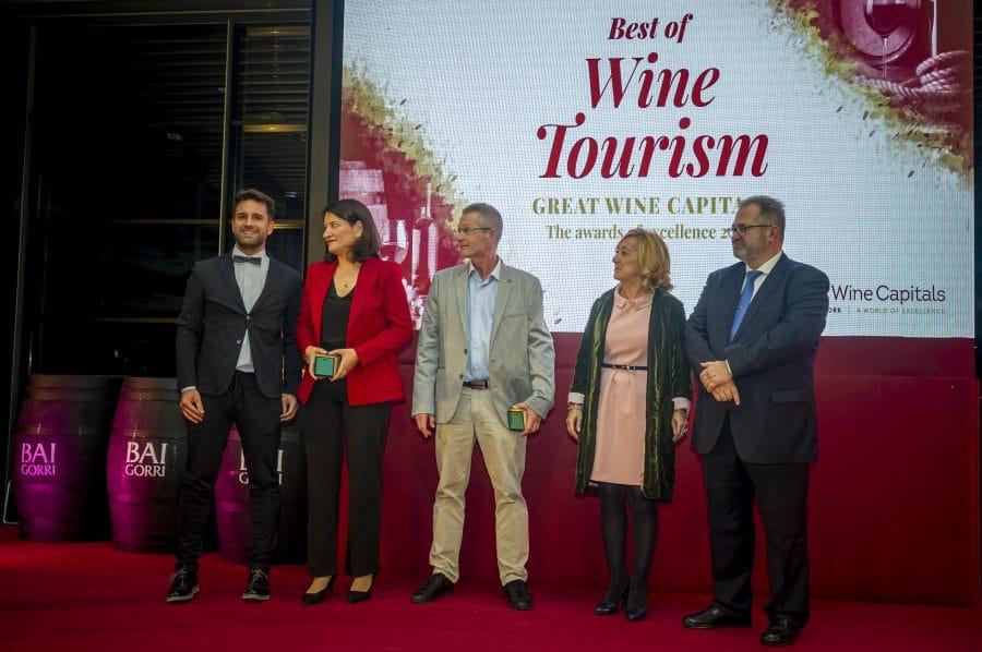 Juan Carlos Sancha, Bodegas Valdemar, Museo Villa Lucía y Bodegas Murua, Premios Best Of Turismo del Vino Bilbao-Rioja 2020 1