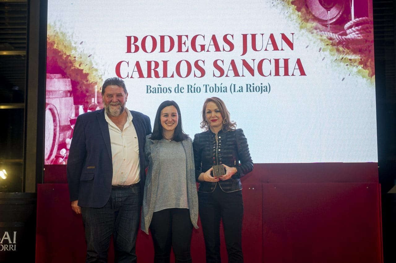 Juan Carlos Sancha, Bodegas Valdemar, Museo Villa Lucía y Bodegas Murua, Premios Best Of Turismo del Vino Bilbao-Rioja 2020 3