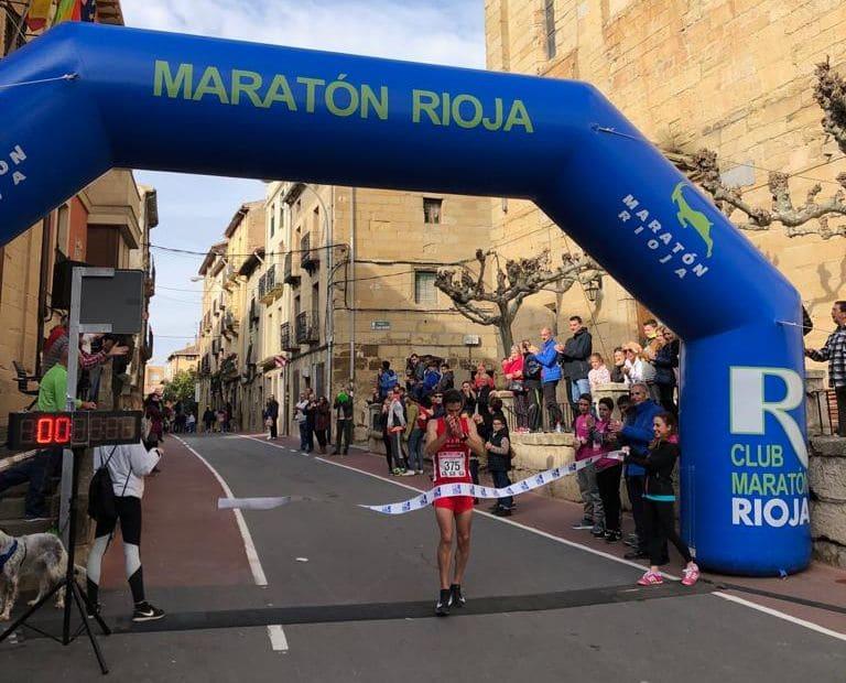 Susana Arrúa y David Martínez, ganadores de la Carrera Entre Viñedos 1