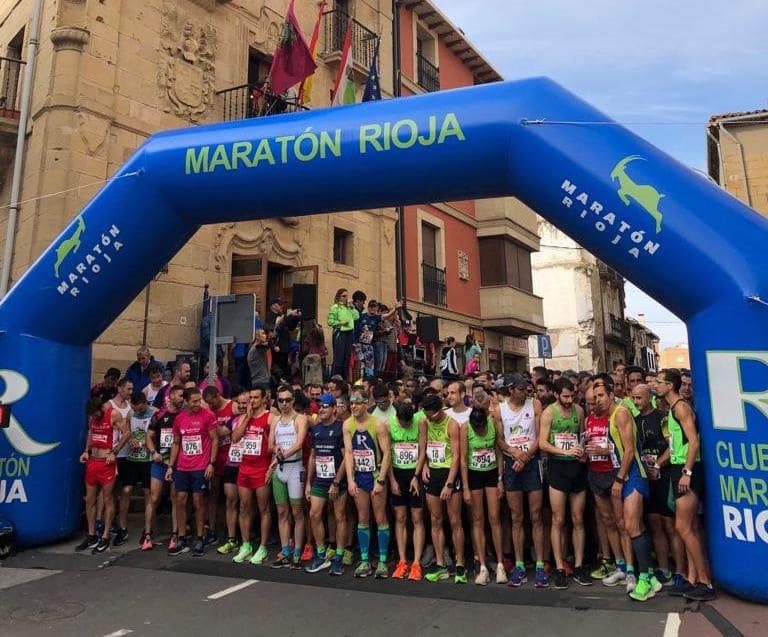 Susana Arrúa y David Martínez, ganadores de la Carrera Entre Viñedos 3