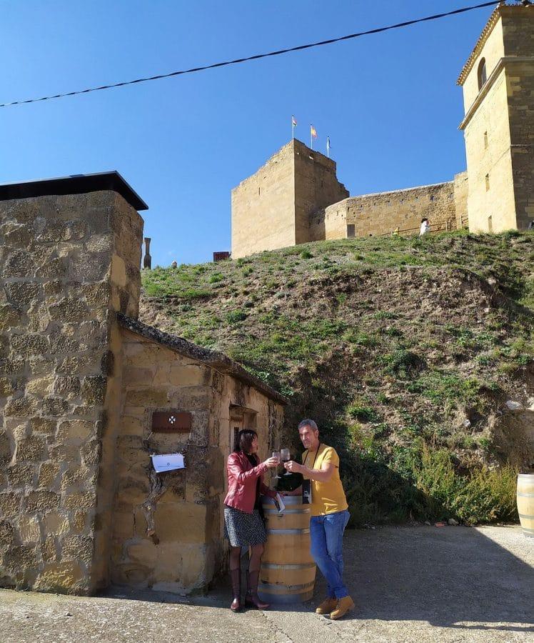 Vino y patrimonio maridan en las catas del Castillo en San Vicente de la Sonsierra 2