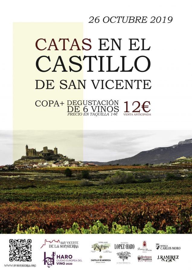 San Vicente de la Sonsierra celebra este sábado una jornada especial de catas en el Castillo 1
