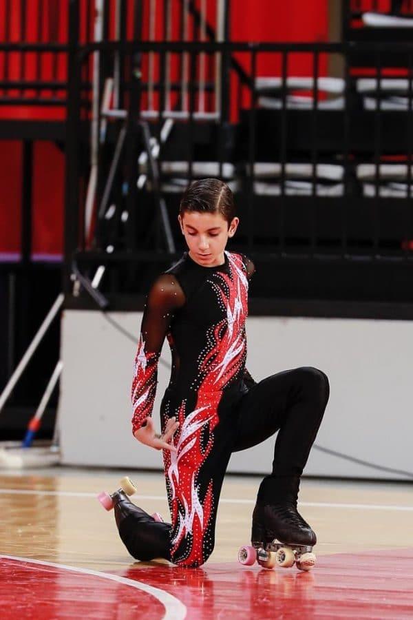 El calceatense Raúl Villarejo, séptimo en el Campeonato de España de patinaje artístico 1