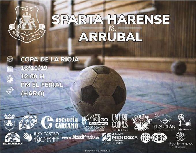 El Sparta Harense debuta este domingo en la Copa de La Rioja 1