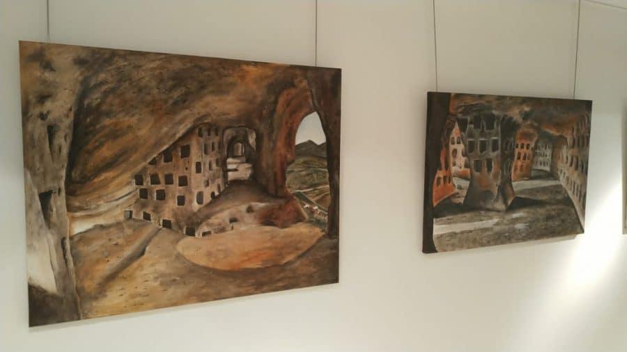 El Centro Fundación Caja-Rioja Bankia de Santo Domingo exhibe pinturas y esculturas de Félix Martínez-Losa 3