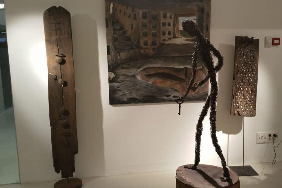 El Centro Fundación Caja-Rioja Bankia de Santo Domingo exhibe pinturas y esculturas de Félix Martínez-Losa 4