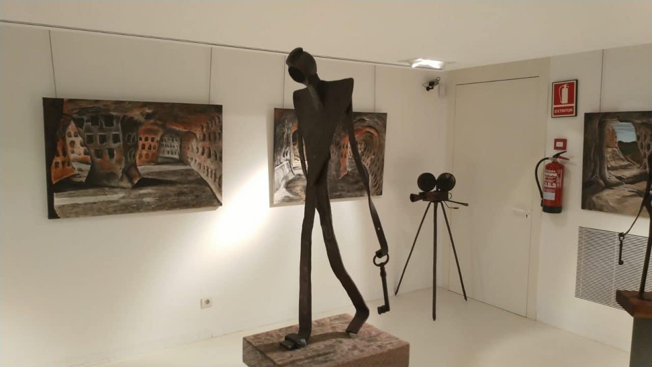 El Centro Fundación Caja-Rioja Bankia de Santo Domingo exhibe pinturas y esculturas de Félix Martínez-Losa 1