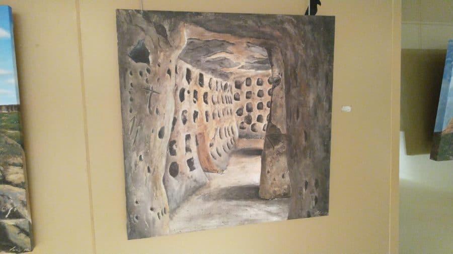 El Centro Fundación Caja-Rioja Bankia de Santo Domingo exhibe pinturas y esculturas de Félix Martínez-Losa 6