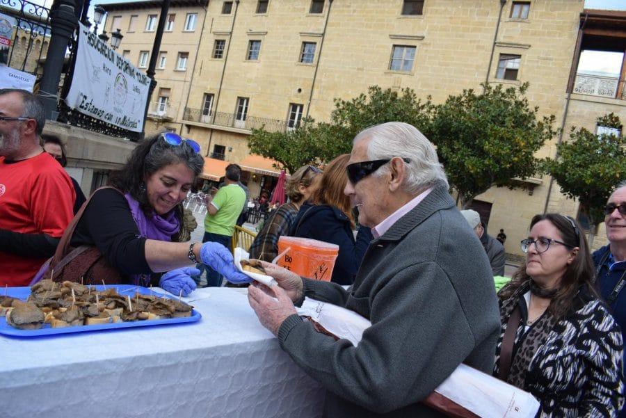 Domingo Garrido, Premio Carlos Aguirre de las Jornadas Micológicas Jarreras 15