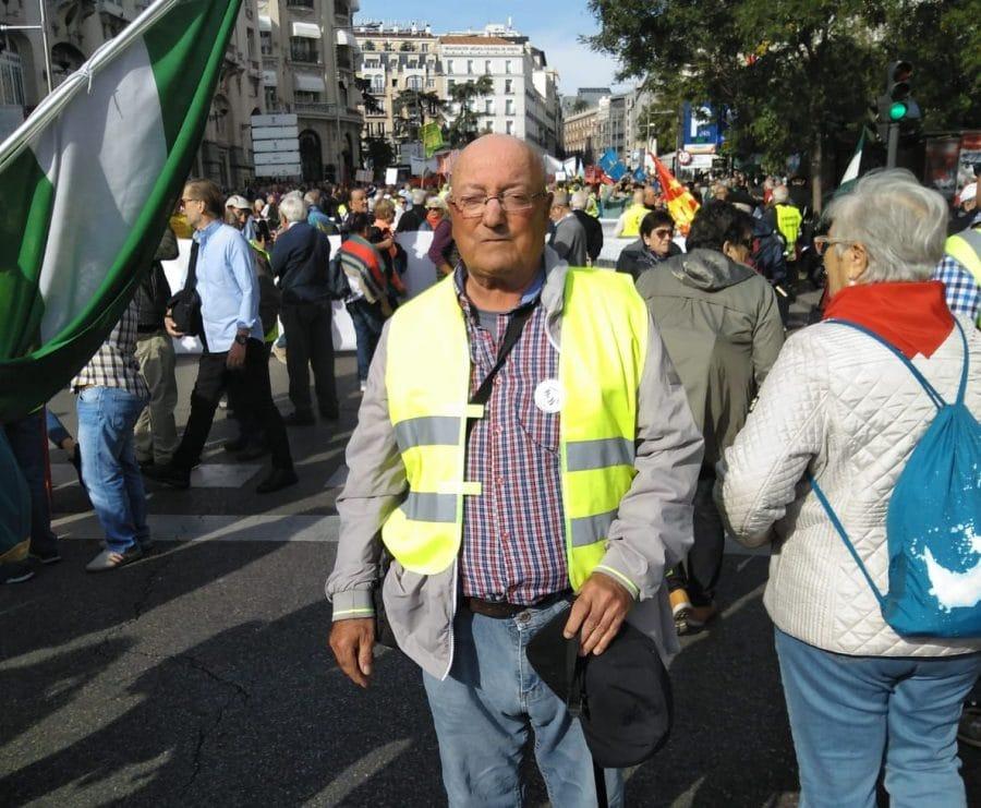 Los pensionistas de Haro, representados en la gran manifestación de Madrid 2