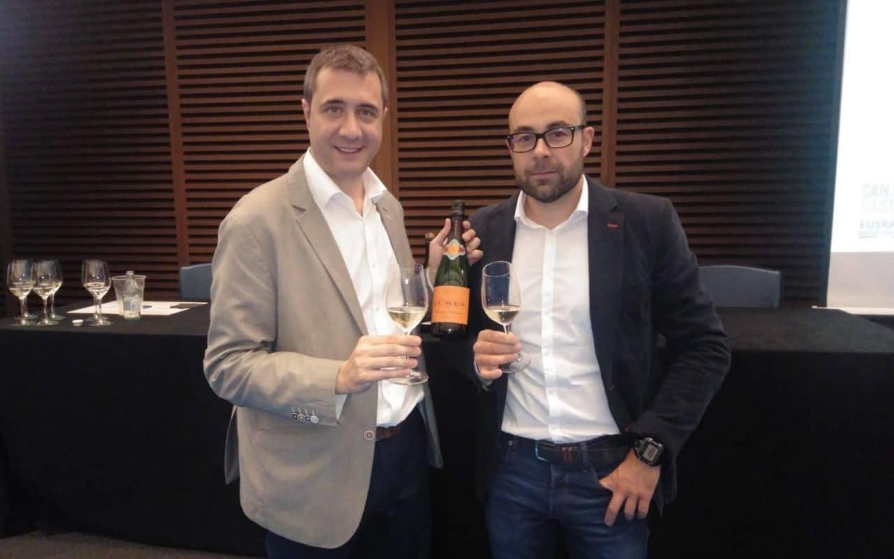 Diego Pinilla, director de enología de Raventós Codorniu, y Pablo Franco, director técnico del Consejo Regulador de la DOCa Rioja.
