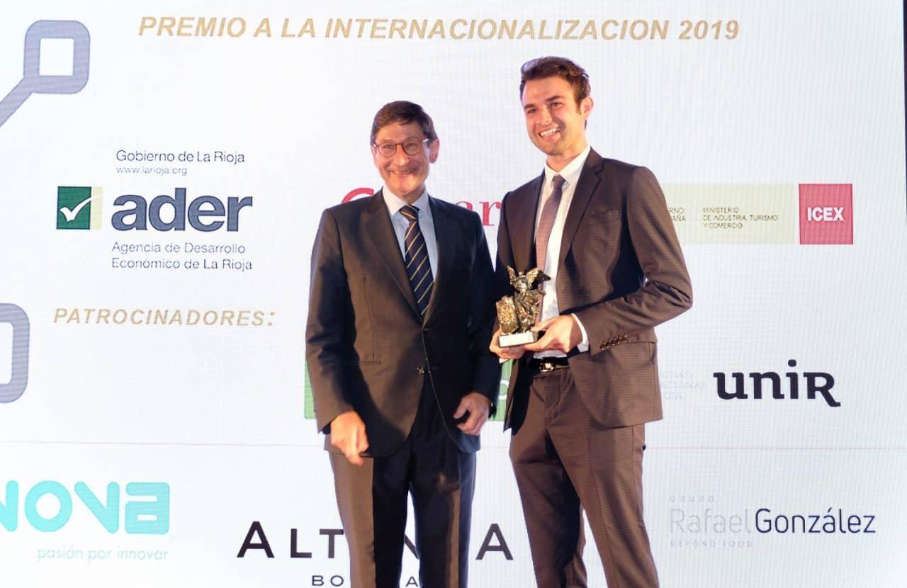 Bodegas Altanza, Teinnova y Rafael González Business reciben los premios a la Internacionalización de La Rioja 3
