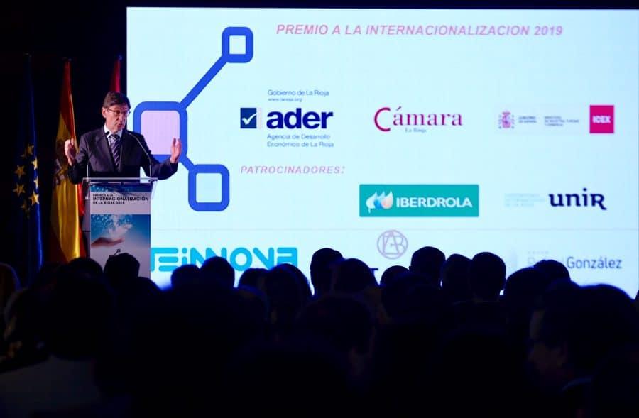 Bodegas Altanza, Teinnova y Rafael González Business reciben los premios a la Internacionalización de La Rioja 7