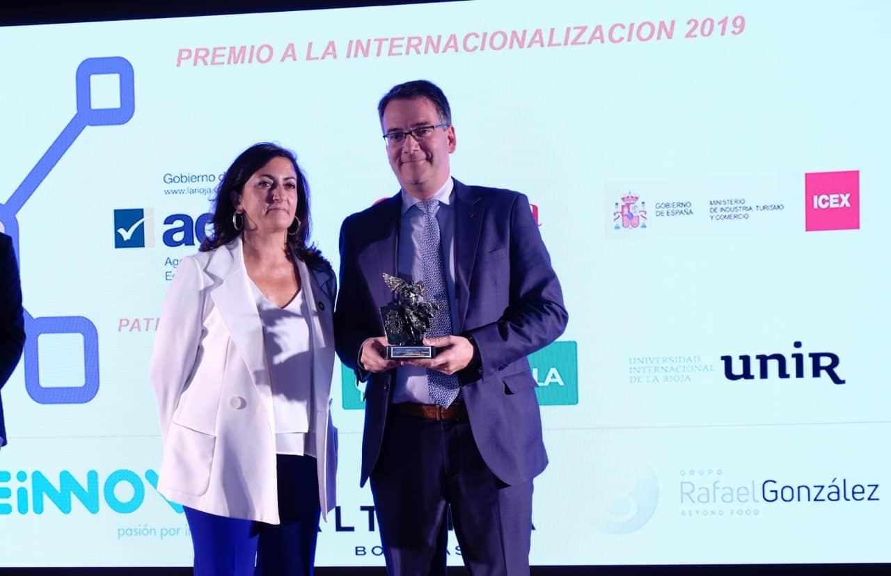 Bodegas Altanza, Teinnova y Rafael González Business reciben los premios a la Internacionalización de La Rioja 2