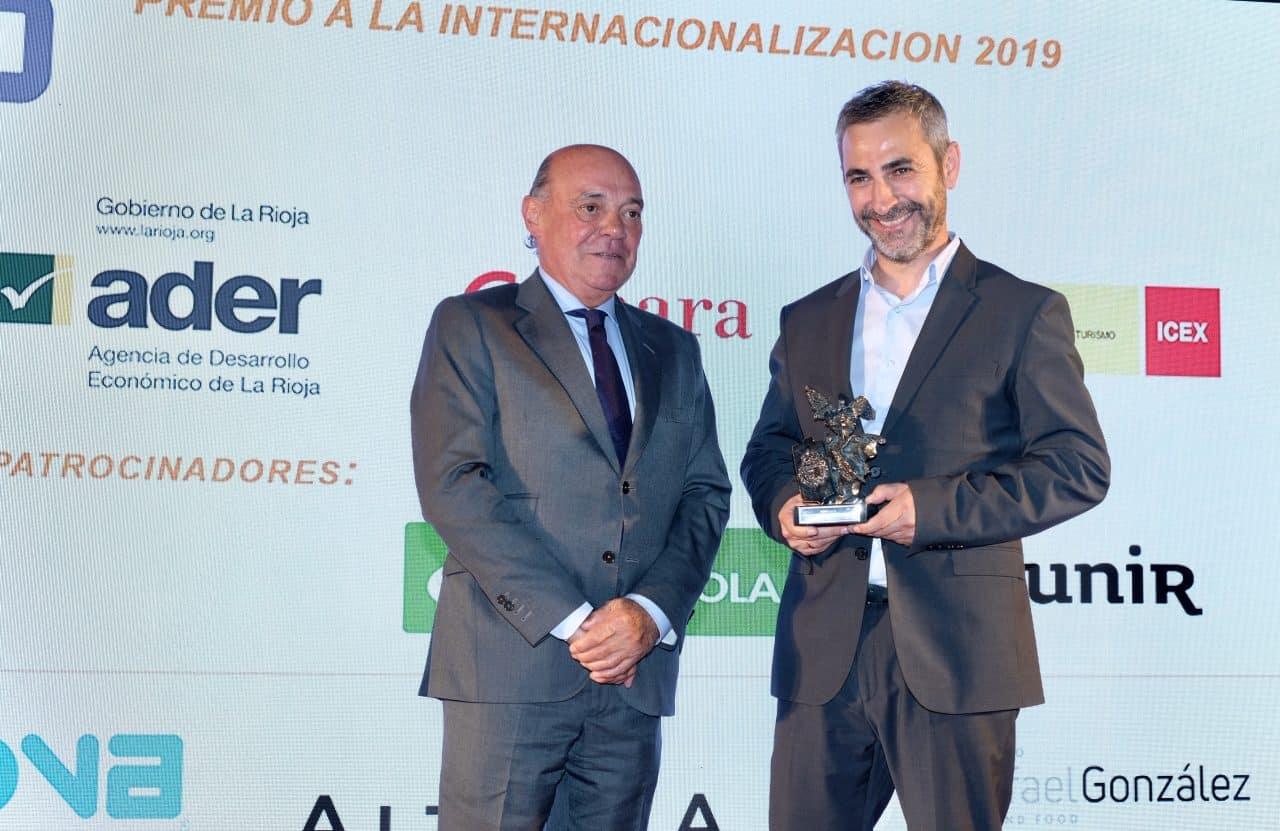 Bodegas Altanza, Teinnova y Rafael González Business reciben los premios a la Internacionalización de La Rioja 1