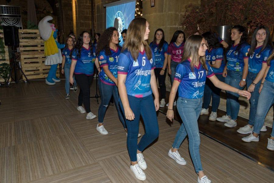 FOTOS: Puesta de largo del OSACC Haro Rioja Voley 2019-2020 9