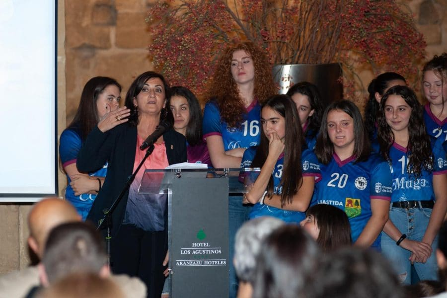 FOTOS: Puesta de largo del OSACC Haro Rioja Voley 2019-2020 5