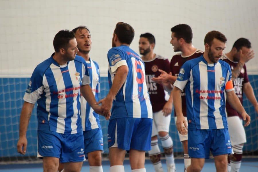 El Sparta Harense cae eliminado de la Copa ante el Arrúbal 4