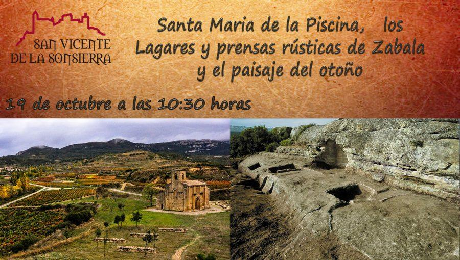 Disfruta este sábado del paisaje otoñal junto a Santa María de la Piscina 1
