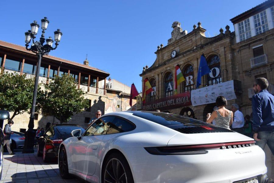 Pistoletazo de salida a la I Vuelta Porsche La Rioja desde Haro 1