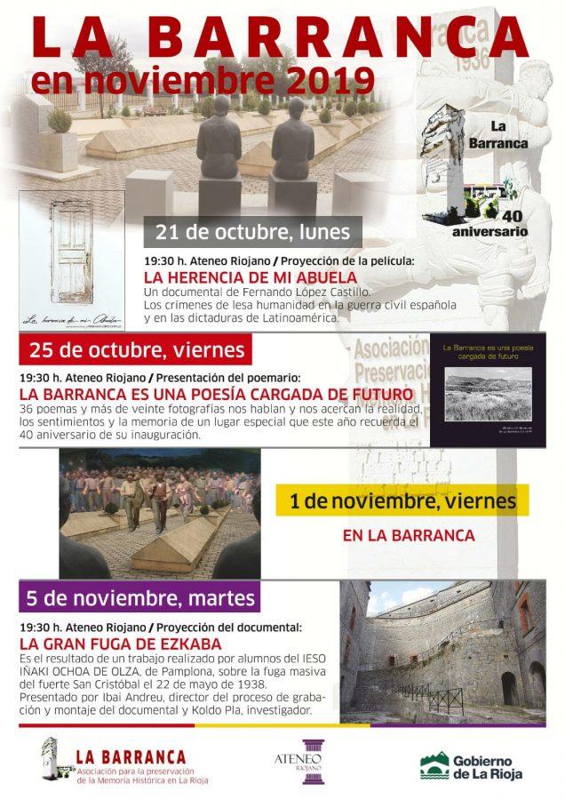 El Gobierno riojano trabajará con La Barranca en el reconocimiento de las víctimas de la dictadura 1