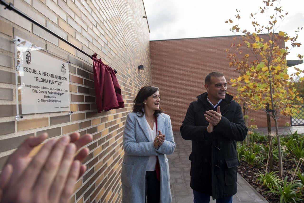 Inaugurada la Escuela Infantil Municipal 'Gloria Fuertes' de Fuenmayor 1