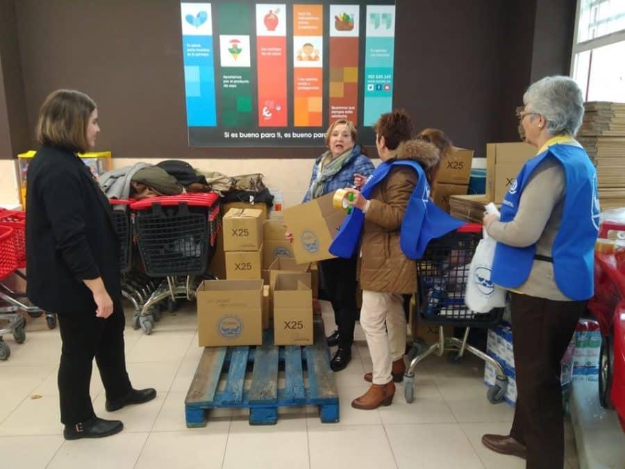 El Banco de Alimentos de La Rioja, con la esperanza de alcanzar el reto de los 190.000 kilos 1