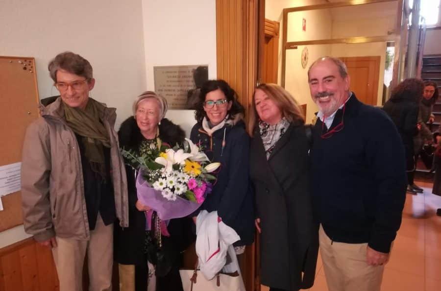 El Conservatorio Lucrecia Arana dedica a la soprano y a Patricio Capellán su 25 aniversario 1