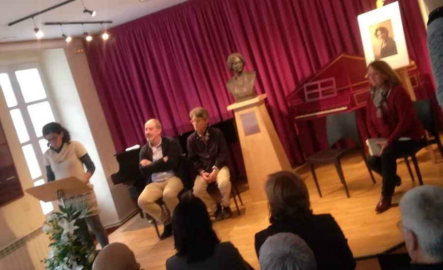 El Conservatorio Lucrecia Arana dedica a la soprano y a Patricio Capellán su 25 aniversario 2