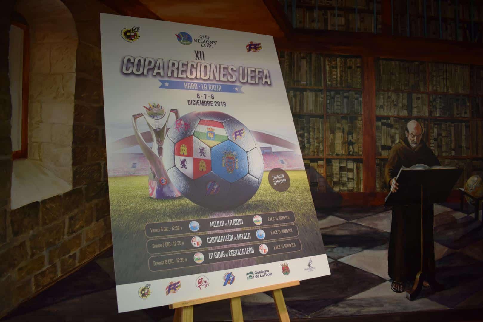 Haro, capital riojana de la Copa de las Regiones UEFA 2