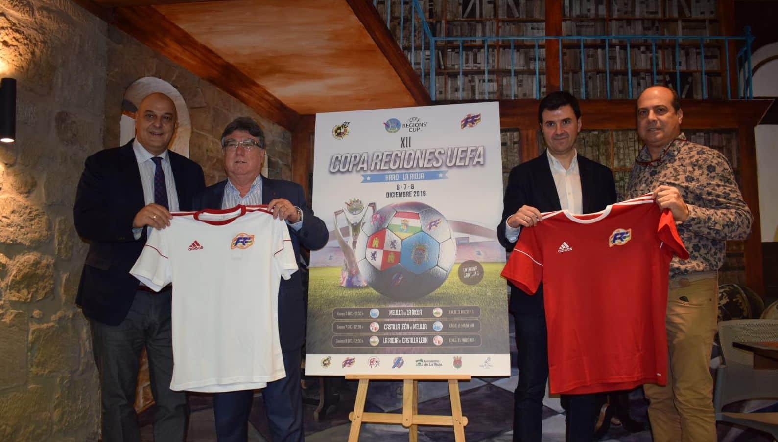 Haro, capital riojana de la Copa de las Regiones UEFA 4
