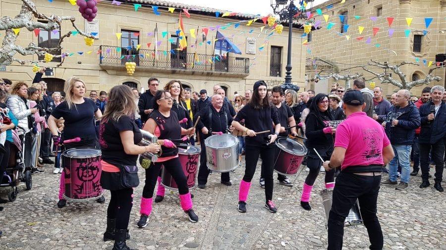 Más de 2.000 personas disfrutan de 'Cuzcuwine', la primera fiesta de la vendimia de Cuzcurrita 4