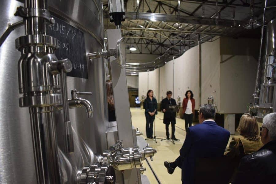 CVNE celebra su 140 aniversario con la ampliación de sus instalaciones en la histórica bodega de Haro 15
