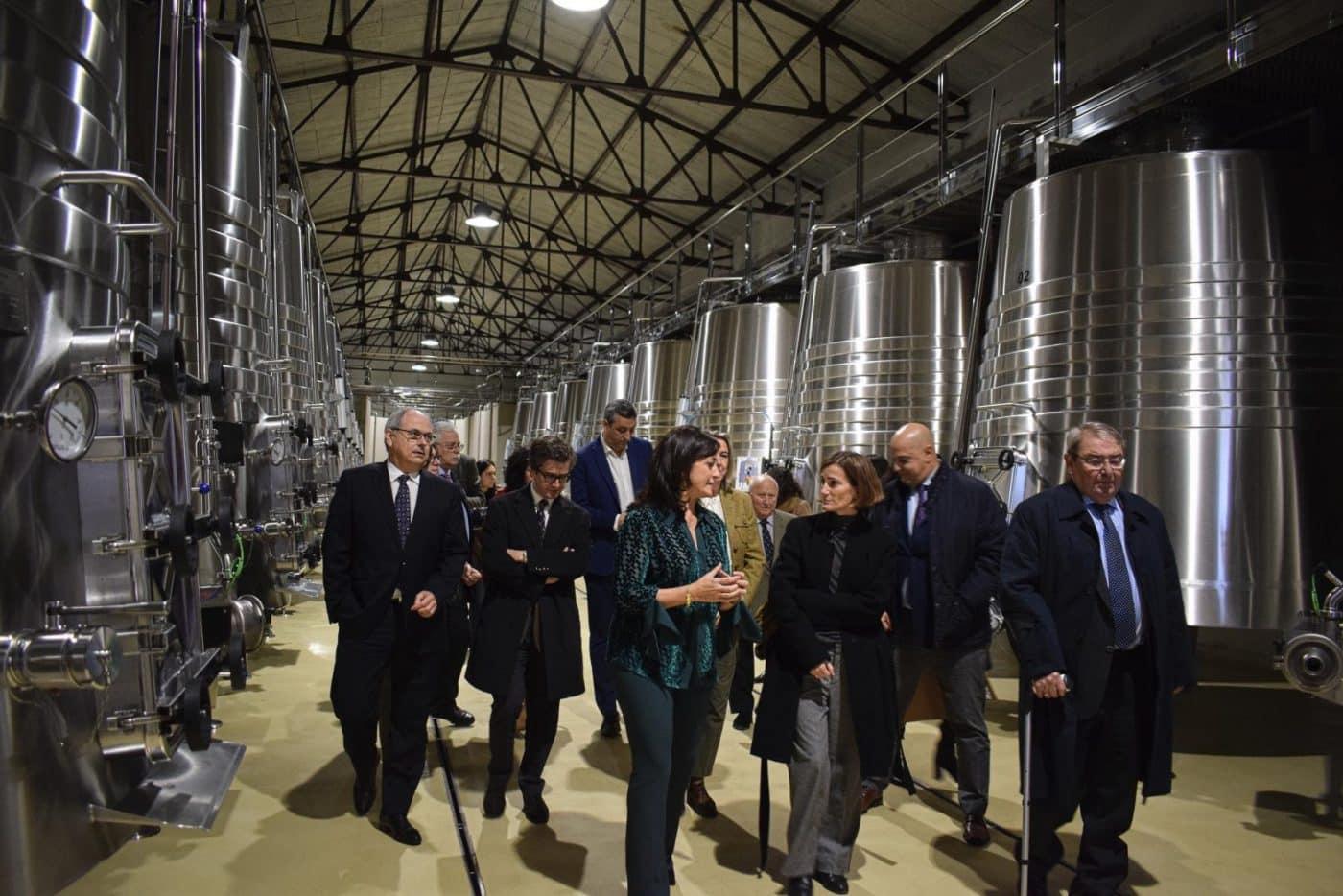 CVNE celebra su 140 aniversario con la ampliación de sus instalaciones en la histórica bodega de Haro 3