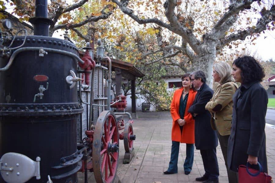 CVNE celebra su 140 aniversario con la ampliación de sus instalaciones en la histórica bodega de Haro 6
