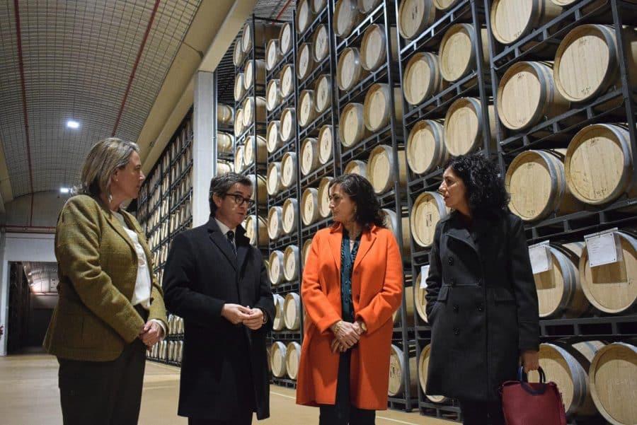 CVNE celebra su 140 aniversario con la ampliación de sus instalaciones en la histórica bodega de Haro 18