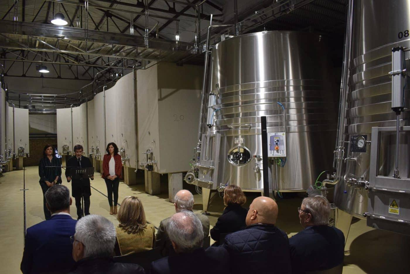 CVNE celebra su 140 aniversario con la ampliación de sus instalaciones en la histórica bodega de Haro 2